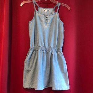 Denim summer mini dress by DKNY 12